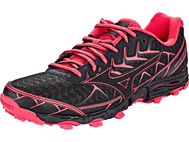 69d7a5df3e6f Mizuno Wave Hayate 4 - Chaussures running Femme - rose noir sur CAMPZ !